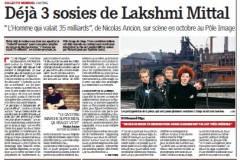 Lakshmi Mittal, Liège, arcelormittal, théâtre, collectif Mensuel