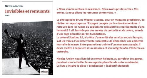 Nicolas Ancion, Invisibles et remuants, MaelstrÖm RéEvolution, roman